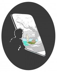 jongen_kijkt_uit_vliegtuigraam
